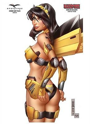 Grimm Fairy Tales #8 Baltimore Comic-Con Cosplay Exclusive Variant Cover