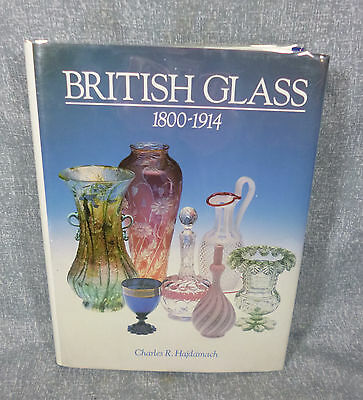 Book - British Glass 1800-1914 - Charles R. Hajdomach