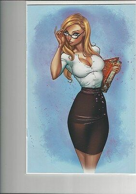 Gft Call Of Wonderland #1 Blue Rainbow J.scott Campbell Exclusive Variant Cover