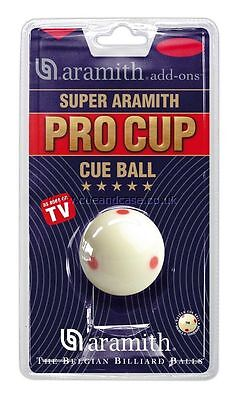 Super Aramith Pro Cup Cue Ball Measles Cue Pool Ball