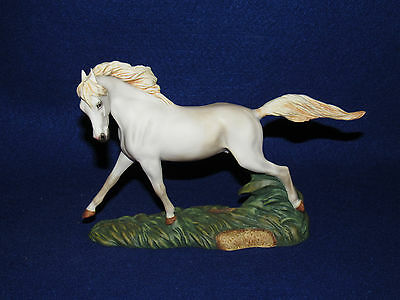 """camargue"" Great Horses Of The World Franklin Mint - 1989 - Mint"