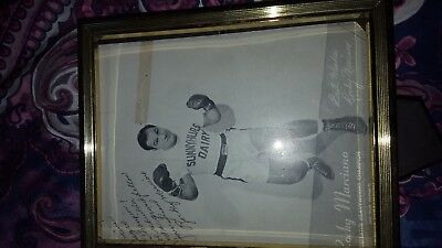 Rocky Marciano Autograph
