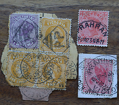 Victoria stamp selection