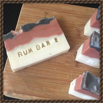 1 X Rum Bar 2 . For The Indoorsy Type Of Man. Natural. Handmade, Organic