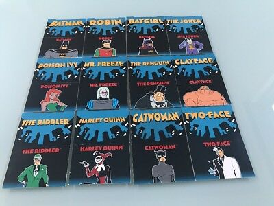 1995 DC Comics Skybox Batman Pop up Cards
