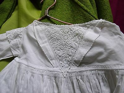 Baby Girl Vintage Cotton Christening Gown