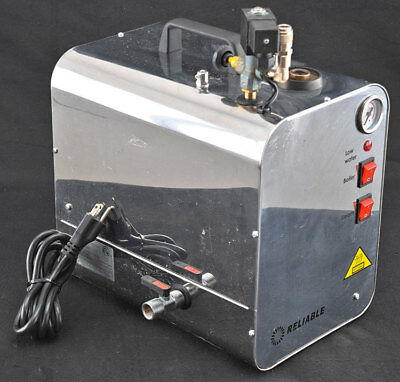 Reliable 6000CD 4.5L Portable Tabletop Stainless steel Dental Lab Steam Cleaner
