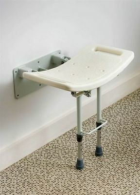 New Wall Mounted Shower Stool With Legs Swall002 Drive Medical  Last One No Vat
