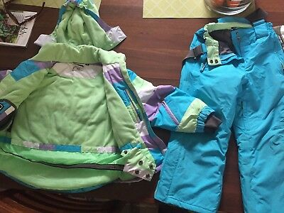 Size 6 Girls Crane Ski Top And Pants Ringwood Pick Up