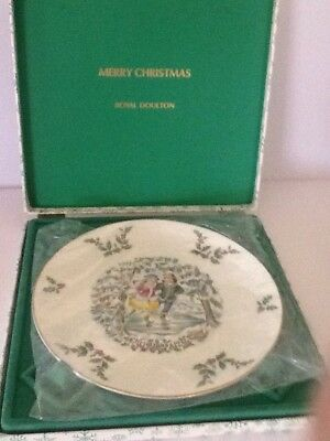 Rare / Vintage / Collectable/ Limited Edition Royal Doulton Christmas Plate