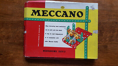 Vintage Meccano Mechanisms Outfit