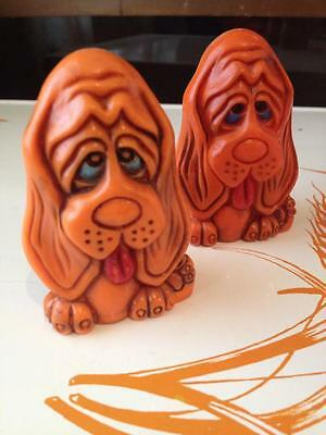 Droopy Dog Mid Century Plastic salt and pepper