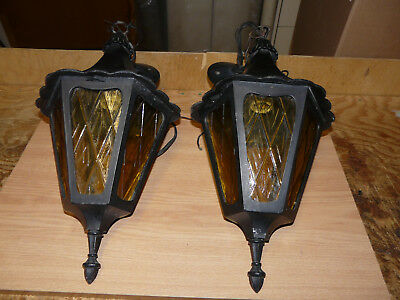 Vintage Ceiling Mount Lantern Porch Lights Fixtures