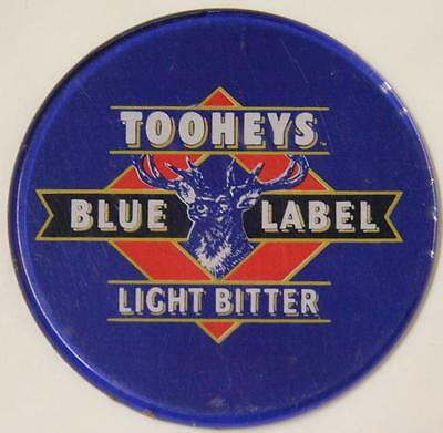 Tooheys Blue Label Light Bitter Acrylic Tap Top Badge - Exc..............ref 3