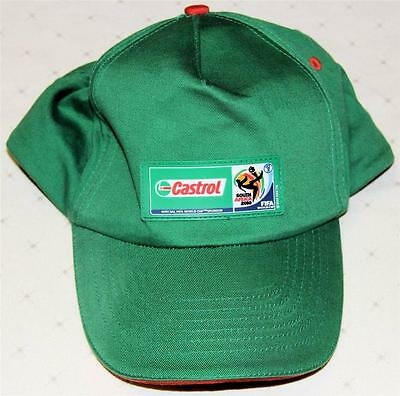 Castrol Fifa World Cup 2010 South Africa Peaked Hat/cap - Excellent