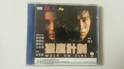 Walk On Fire VCD - 1988 - Andy Lau, Cherie Chung, Dick Wei, Ray Lui, 獵鷹行動