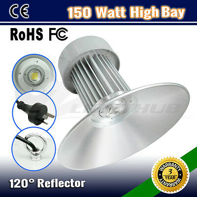 150W Led High Low Bay Work Light Warehouse Industrial Factory Workshop Lamp 300W