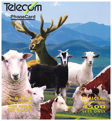TK Telefonkarte/Phonecard 1994 Telecom New Zealand - Farm Animal Series