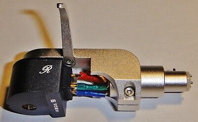 IKEDA 9 R LOW OUTPUT MC PHONO CARTRIDGE incl. IKEDA HEADSHELL
