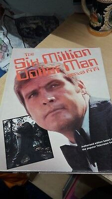 Annuals 1960s 1970s - THE AVENGERS - SIX MILLION DOLLAR MAN - RSPCA