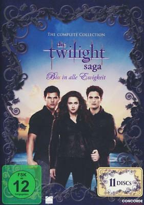 Die Twilight Saga - Complete Collection (11 DVDs)