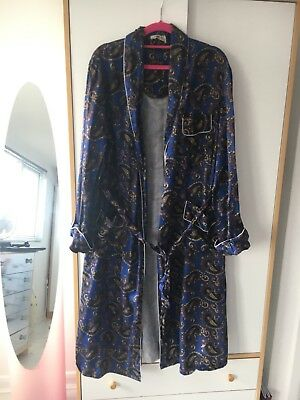 Vintage Paisley Dressing Gown