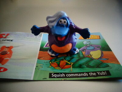 Yowies Series 6 ADVENTURE SERIES 1 * SQUISH * LIMITED EDITION MINI YOWIE