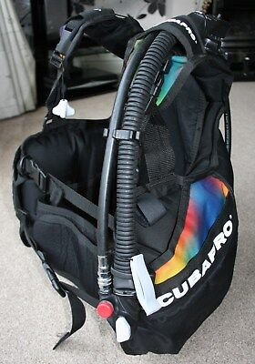 Scuba diving dive bcd stab jacket wing Scubapro size small