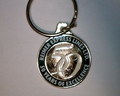 Reimer Express Lines Ltd 50 Years Of Excellence Key Chain