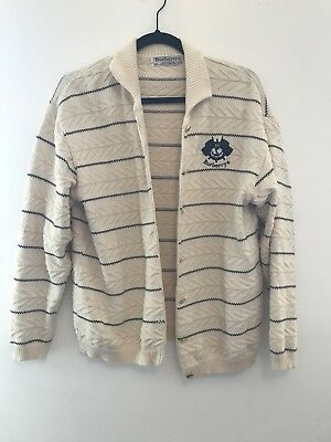Vintage Burberry's Cricket Cardigan Small/Medium
