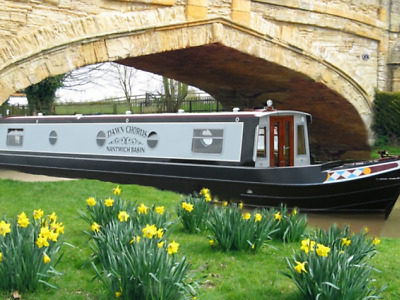 Narrowboat Share 6 berth: Dawn Chorus full 8% (4 Weeks) share only £7,500.00 ono