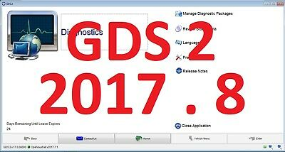 MDI Diagnostic software GDS2 v.17.0.08000 v2017.07.1  GM VAUXHALL / OPEL