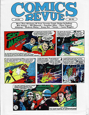 Sky Masters by Jack Kirby and Wally Wood, Comics Revue production pages