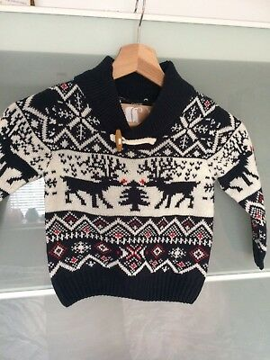 Boys Christmas Jumper Age 18-24 Months Brand New