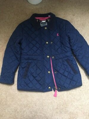 Absolutely Beautiful Girls Navy Joules Coat Age 5 Years