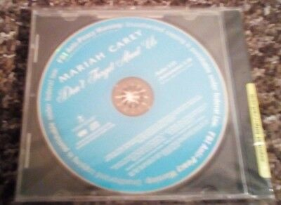 Mariah Carey Don't Forget About Us Promotional CD
