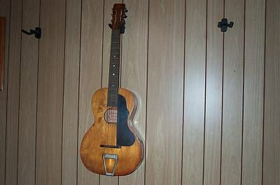 Vintage National Hawaiian Conservatory Professional Parlor Guitar Project!