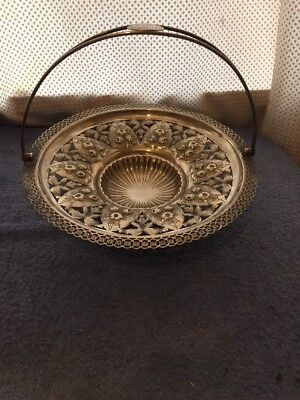 Silver Plated Handled Bowl