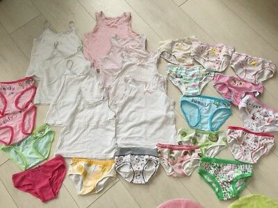 Girls 3-4 Years Underwear Bundle