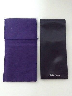 Étui À Lunettes  / Eye Glass Case  Ralph Lauren Purple Label