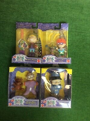 New LOT 4 Nickelodeon RUGRATS MOVIE 1998 Figures PLAYSETS Soft Pals DOLLS Sets
