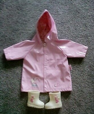 Baby annabel rain coat x wellies