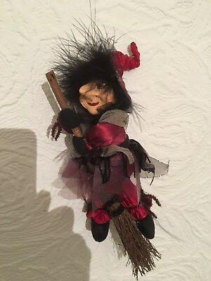 Collectable Austrian Folk Art Wicked Witch Figure
