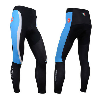 Size S Fashion Mens Cycling Pants Pad Bike Racing Trousers Tights Bottoms Wear