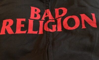 Bad Religion Hoodie Size Large