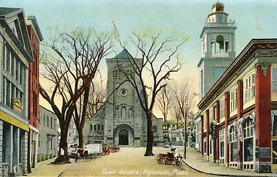 Plymouth, Mass, Town Square