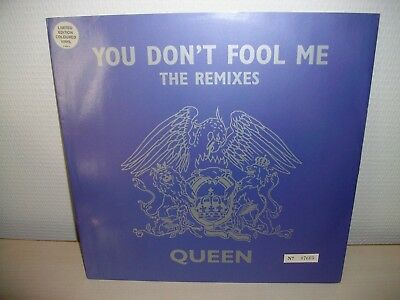 """Queen You Don't Fool Me 12"""" Numbered Limited Edition Grey Vinyl"""