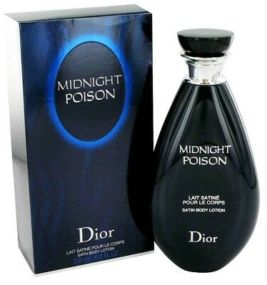 Midnight Poison Christian Dior Lait satine corps 200ml. Satin Body Lotion