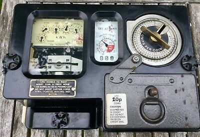 Coin Operated Mains Electricity Meter