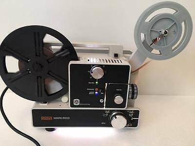 EUMIG MARK 610D Super 8 Single8 Stummfilm-Projektor voll funktionsfähig